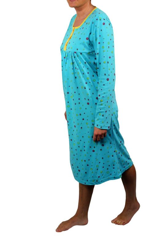 Hannah dámská noční košile M světle modrá