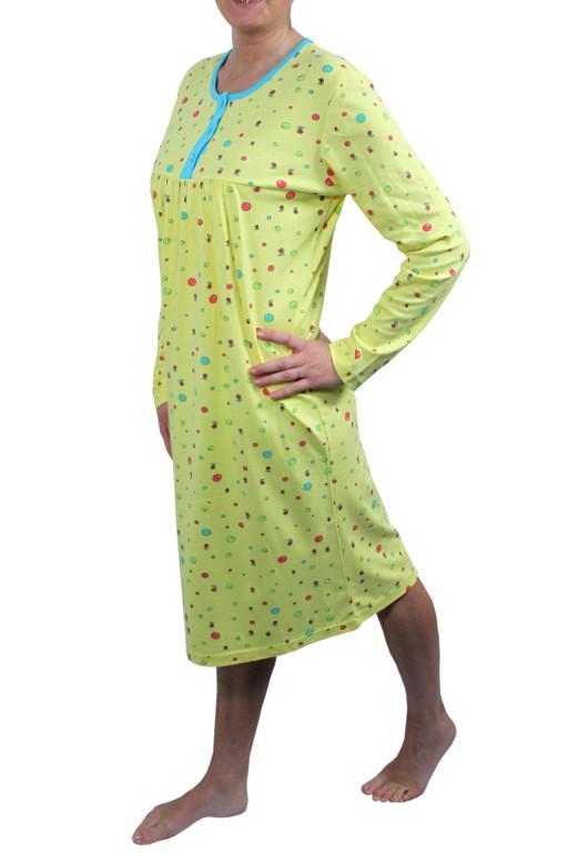 Hannah dámská noční košile M žlutá