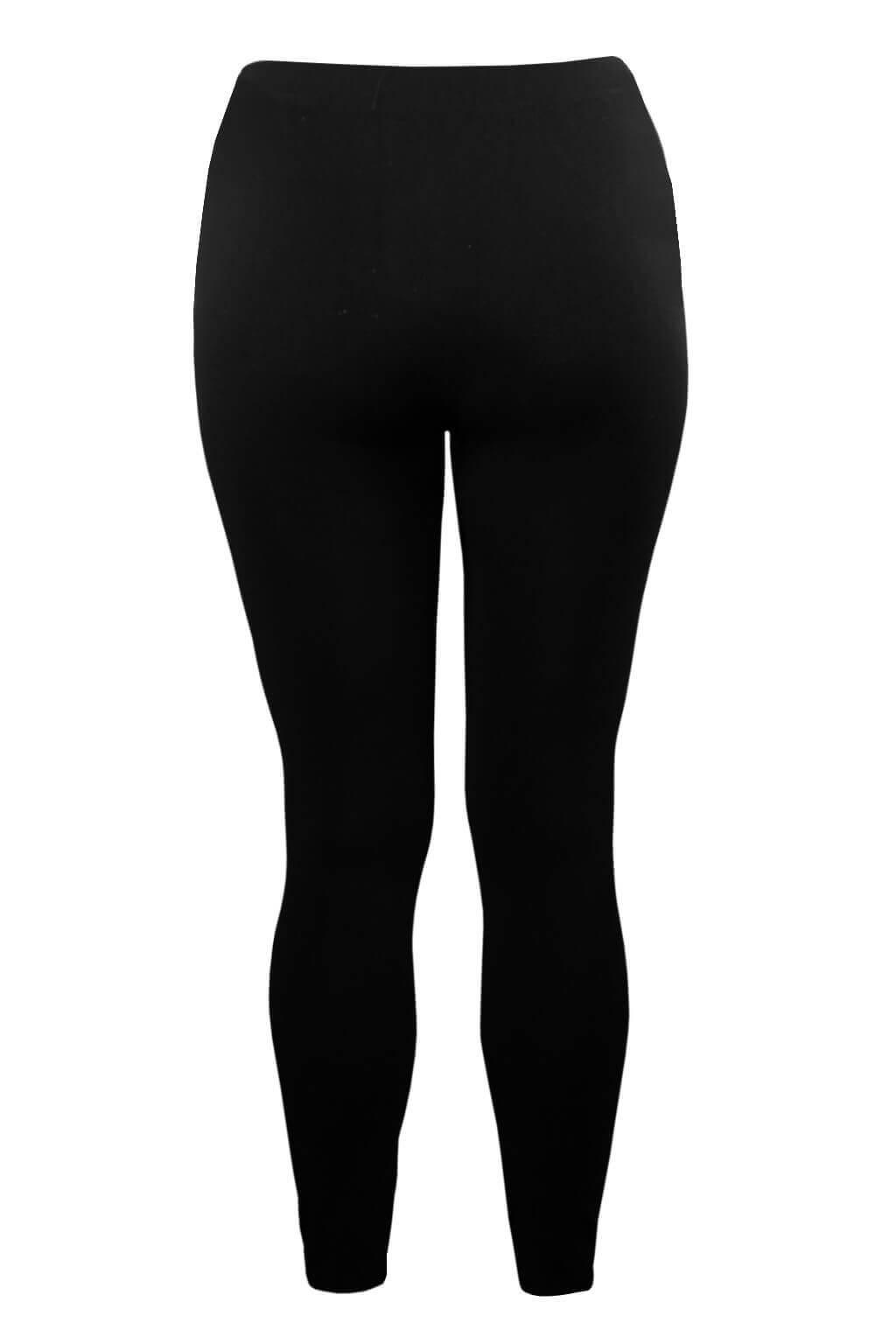 Legíny Top Q bambusové se stahujícím efektem XL černá