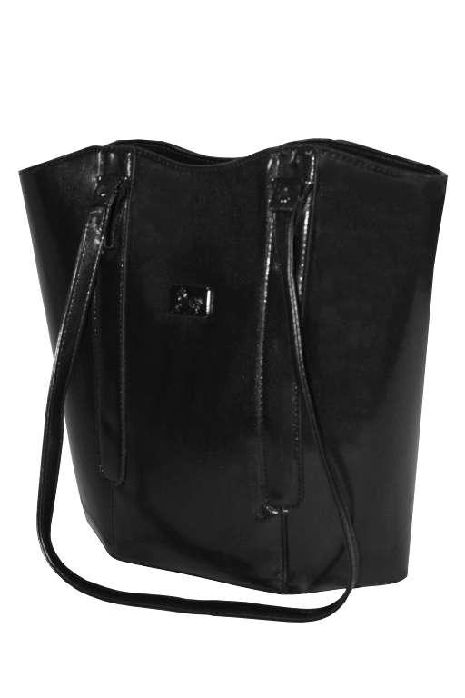 Lotte Long dámská kabelka černá