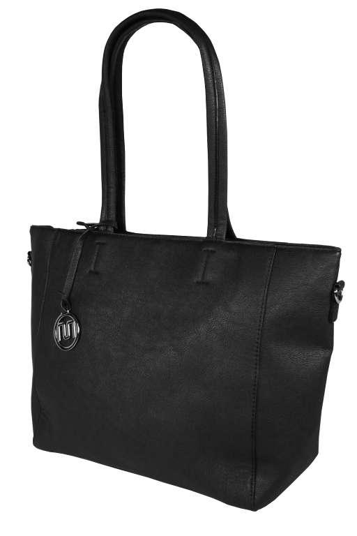 Lorieta větší dámská kabelka černá