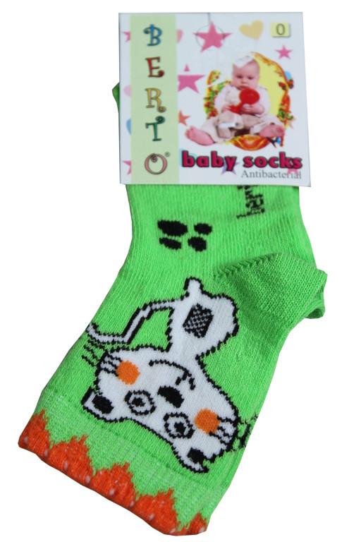 Berto Baby ponožky 0-1 rok světle zelená