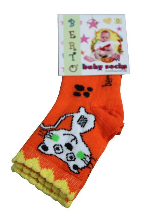 Berto Baby ponožky 0-1 rok žlutá