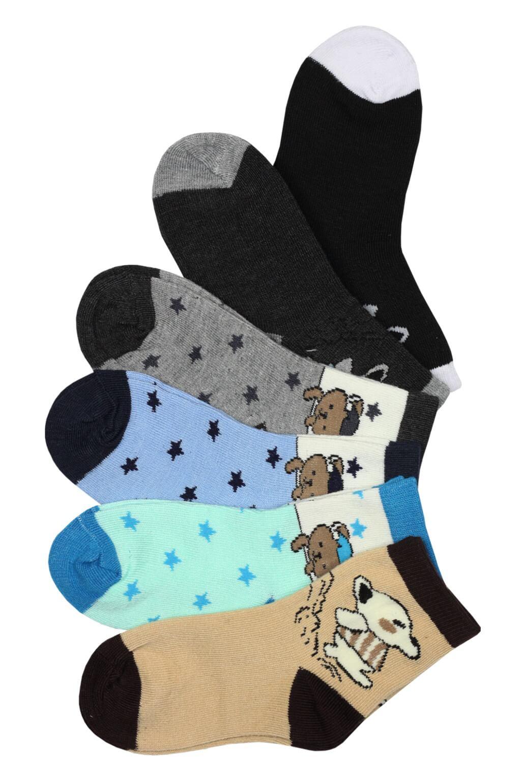 Kids Classic ponožky - 3bal 9-10 let MIX