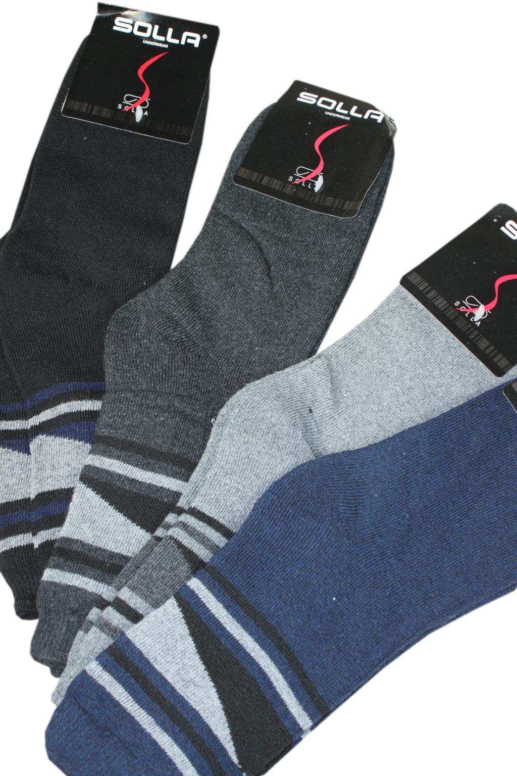 Joto Solla teplé ponožky - 3bal 43-47 MIX