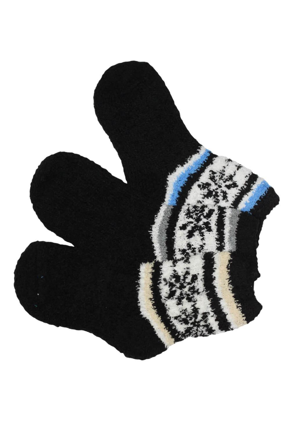 9a010ab7205 Detske chlupate ponozky 3 pary mix 35 38