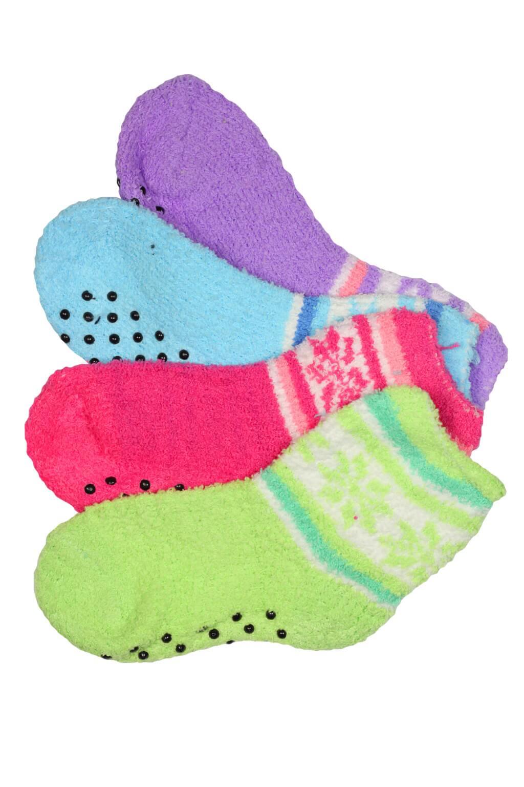 Dívčí thermo ponožky 3 páry 31-34 MIX 5849a4bc17