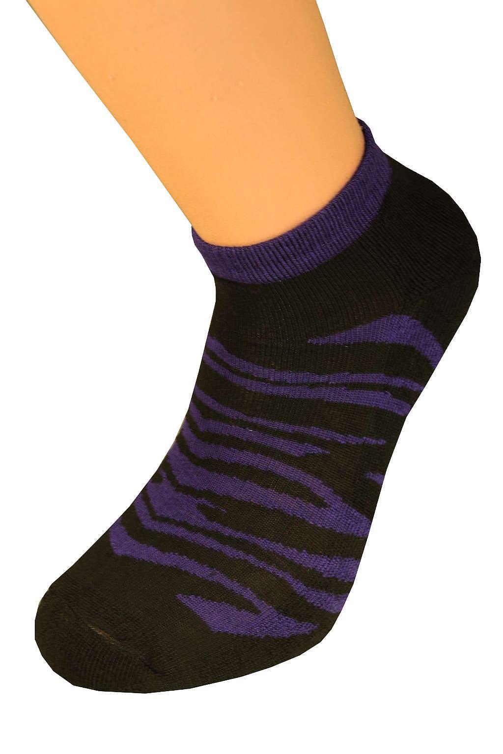 Thermo ponožky Tygr 37-42 fialová
