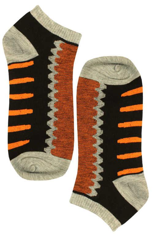 Nižší pánské bambus ponožky 43-47 oranžová