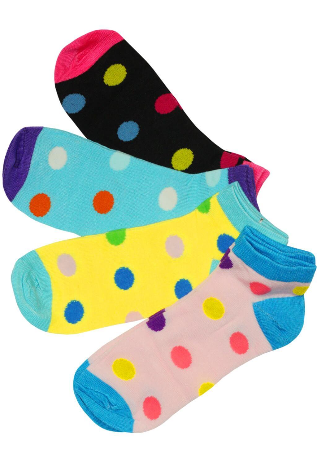 Dámské levné veselé ponožky LW622- 3 páry 39-42 MIX