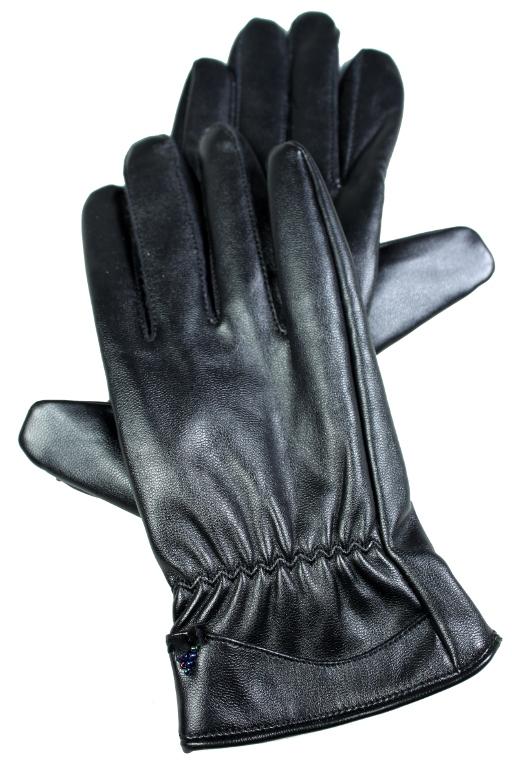 Dion rukavice - z umělé kůže L černá