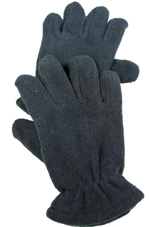 Dinny rukavice dětské 7-8 let černá