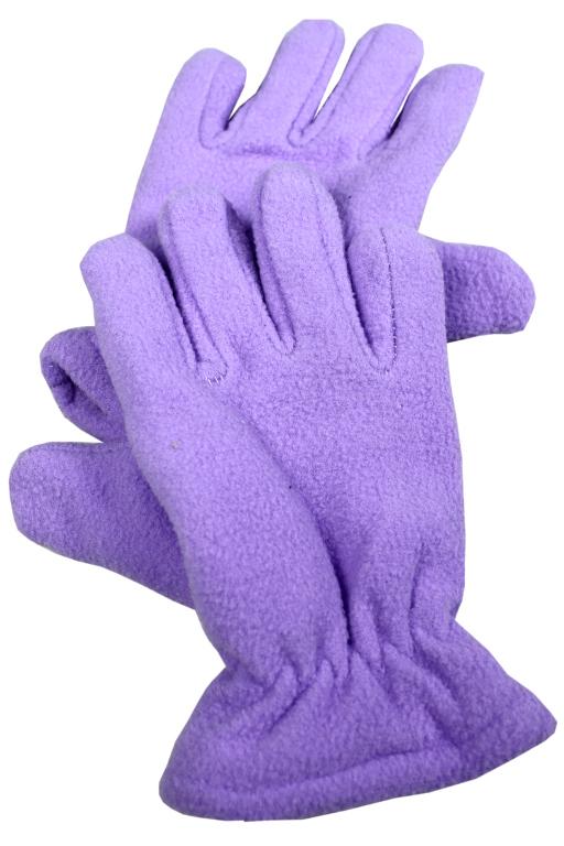 Dinny rukavice dětské 7-8 let světle fialová