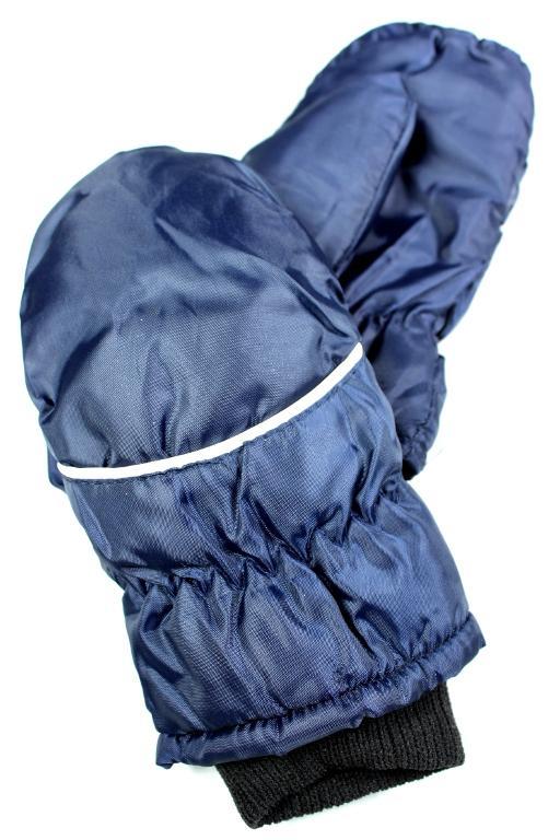 Palčákové rukavice dětské 3-4 roky tmavě modrá