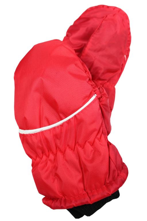 Palčákové rukavice dětské 3-4 roky červená