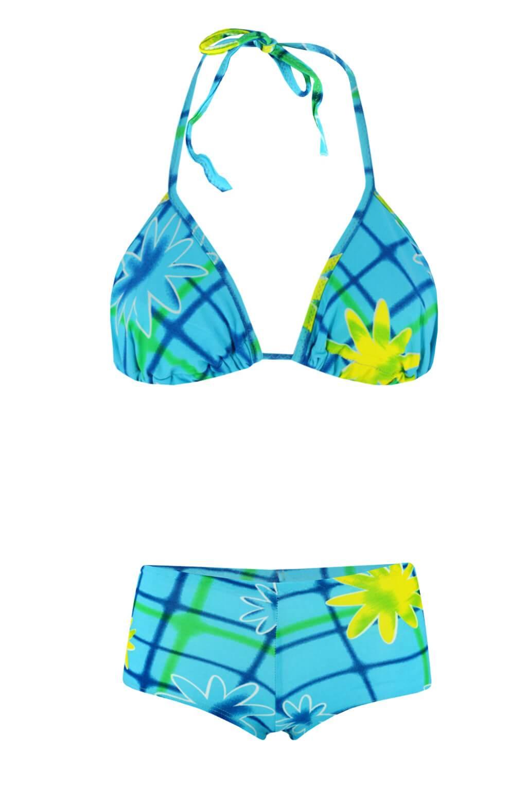 Aqua B plavky se sukénkou S modrá