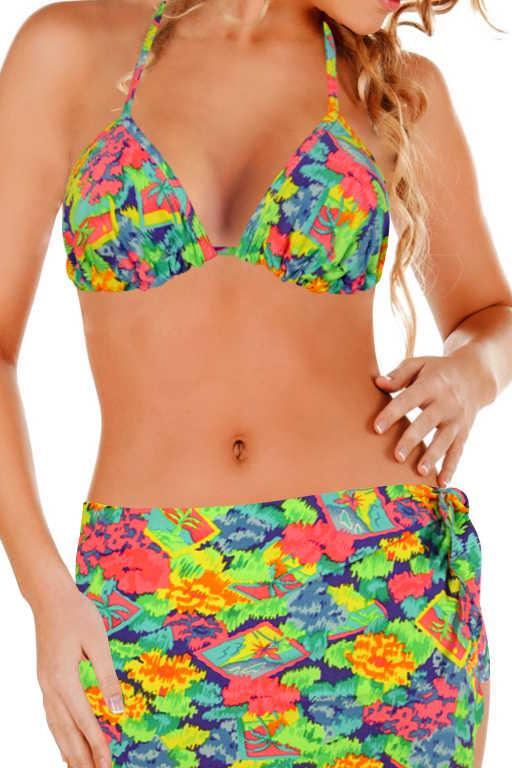 Aqua A neonové plavky XS MIX
