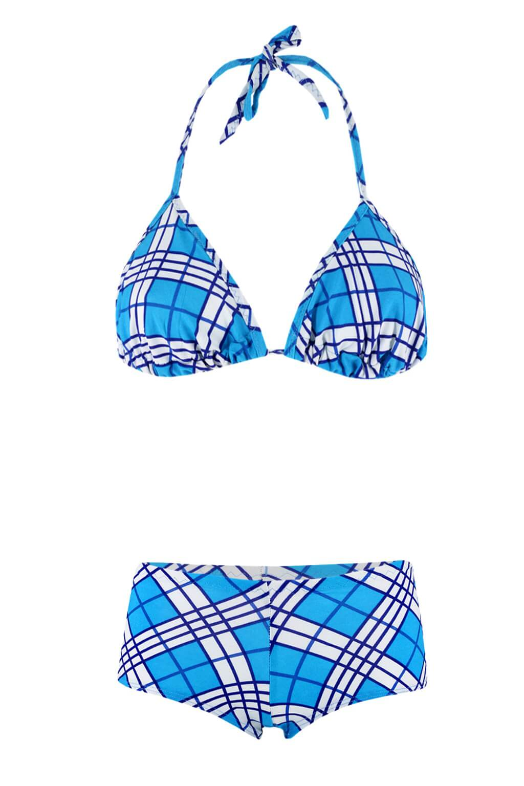Aqua E plavky se sukénkou M modrá