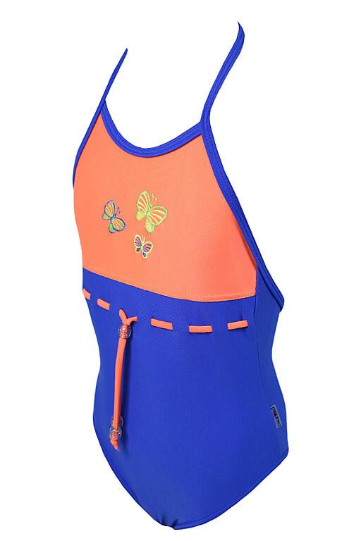 Babeta dívčí plavky 5-6 let modrá