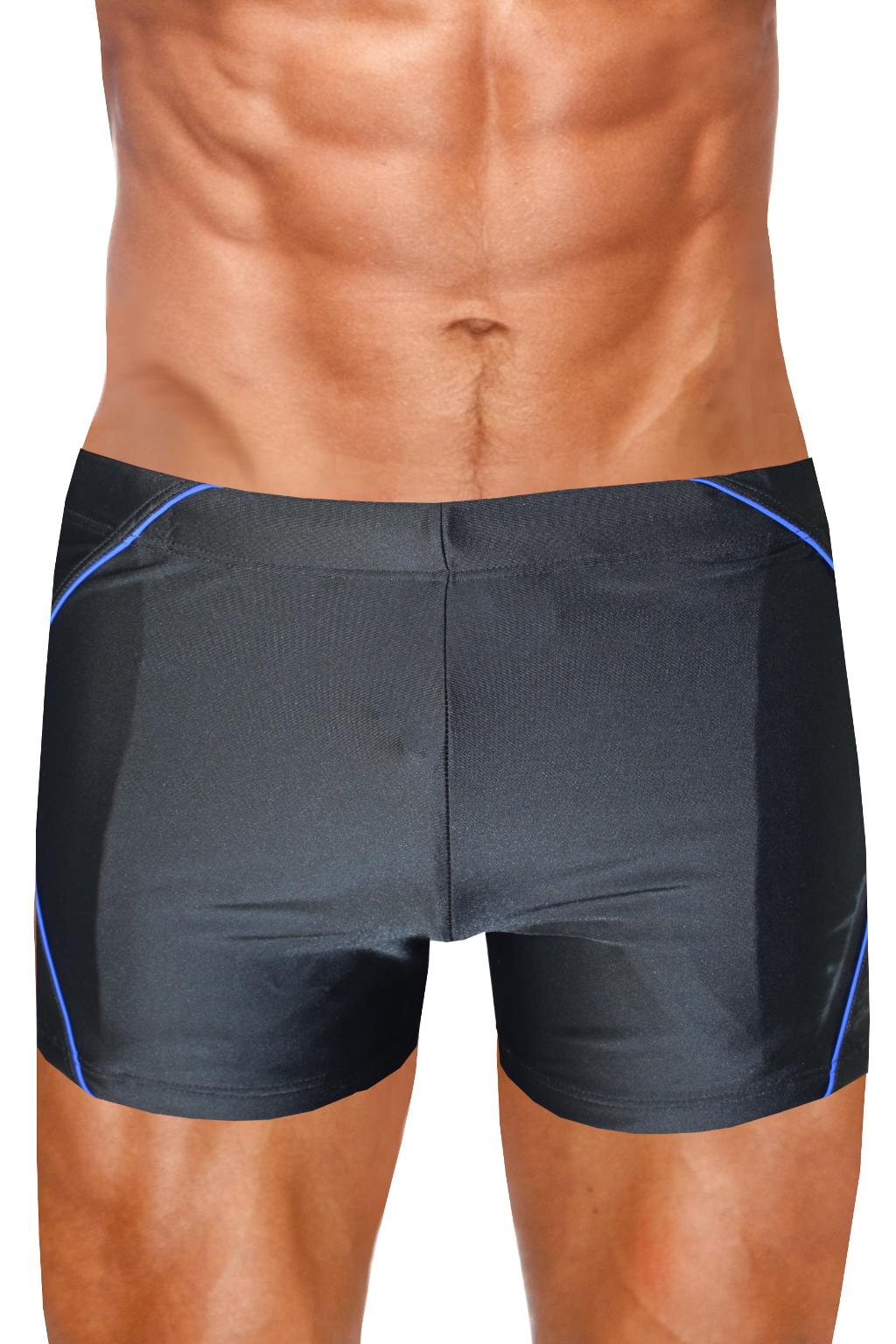 Rive pánské plavky boxerky M černá