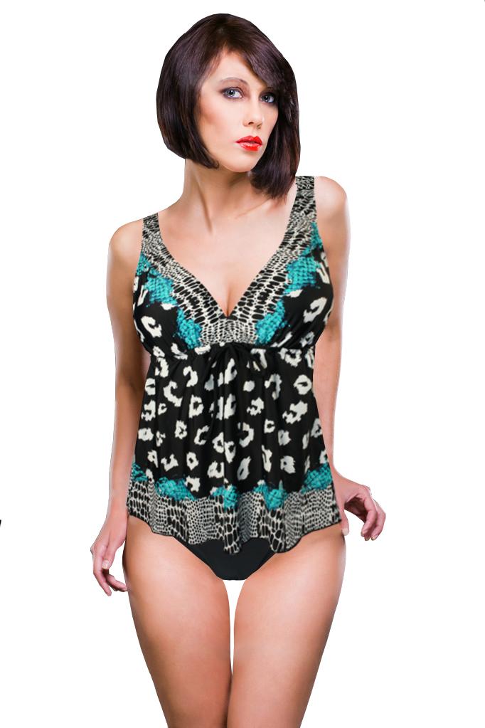 Hawai tankiny - plavky dámské L černá