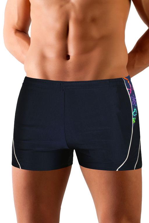 Magnus Sea boxer pánské plavky L tmavě modrá