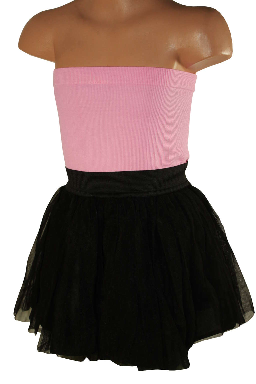 Little Witch dívčí tylová sukně 9-10 let černá