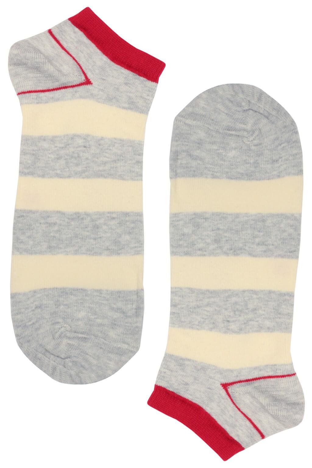 Bellinda ponožky - veselé pánské kotníčkové MIX 43-46