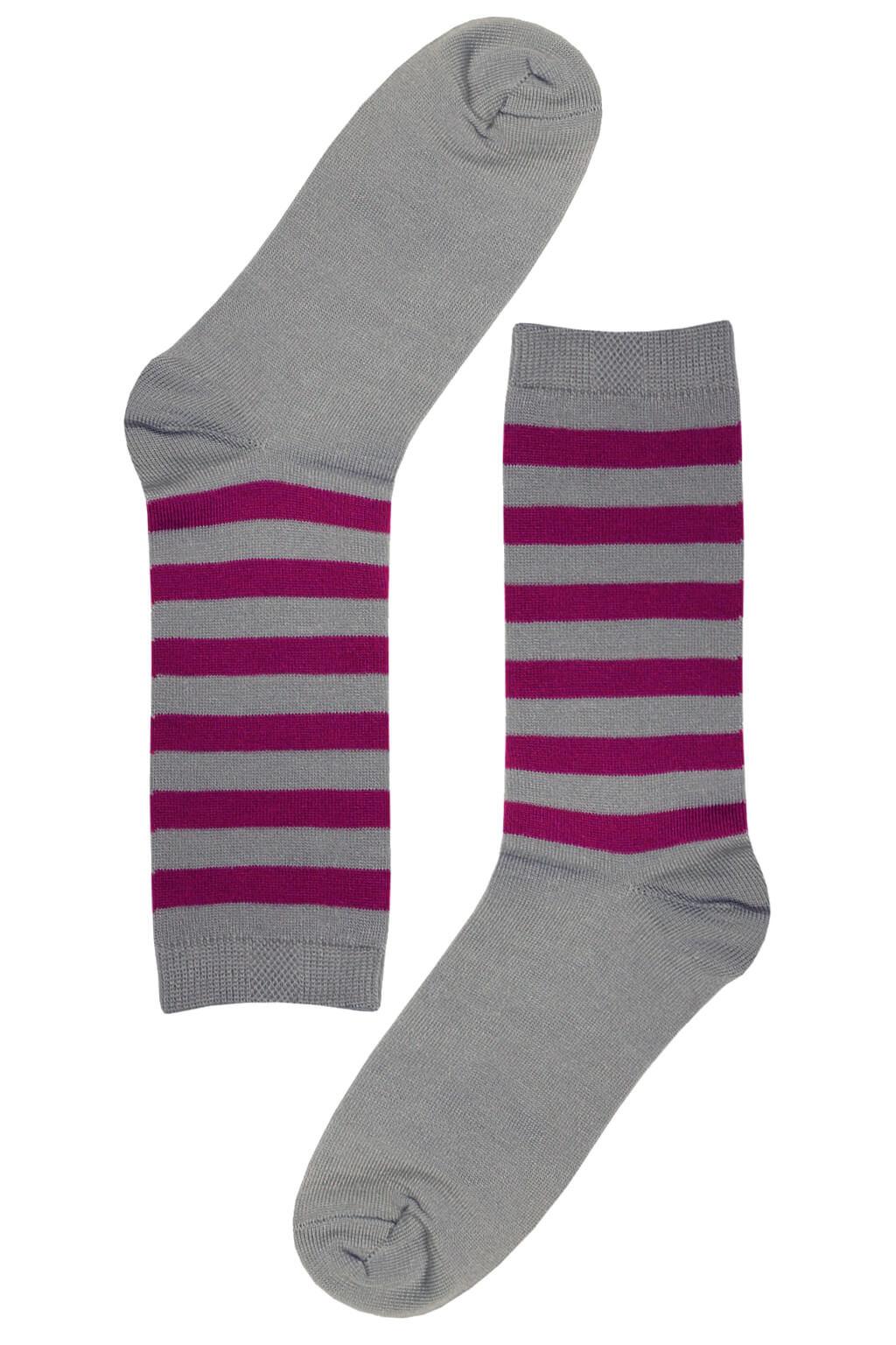 Bellinda veselé ponožky - klasické, bavlněné dámské 39-42 šedá