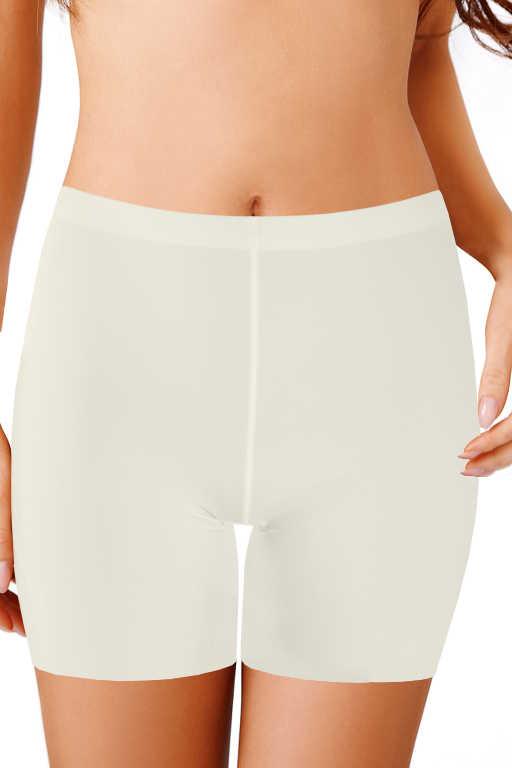 Alva stahovací kalhotky s nohavičkou L bílá