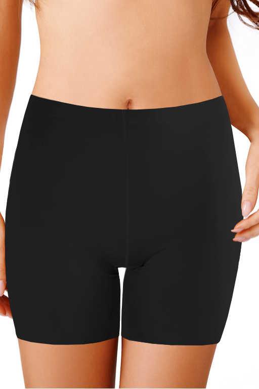 Alva stahovací kalhotky s nohavičkou L černá