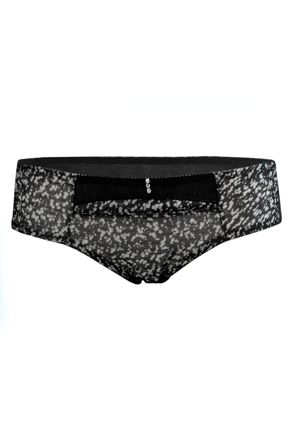 Spring Mood - klasické kalhotky XS černá