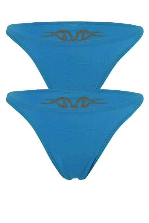 Pola NT kalhotky s kérkou - 2ks M modrá