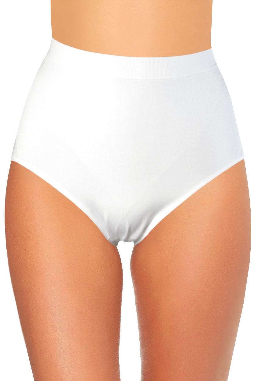 Miranda III stahovací vysoké kalhotky XL bílá