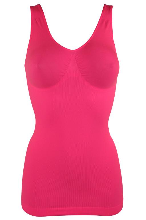 Torri stahující košilka XL zářivě růžová