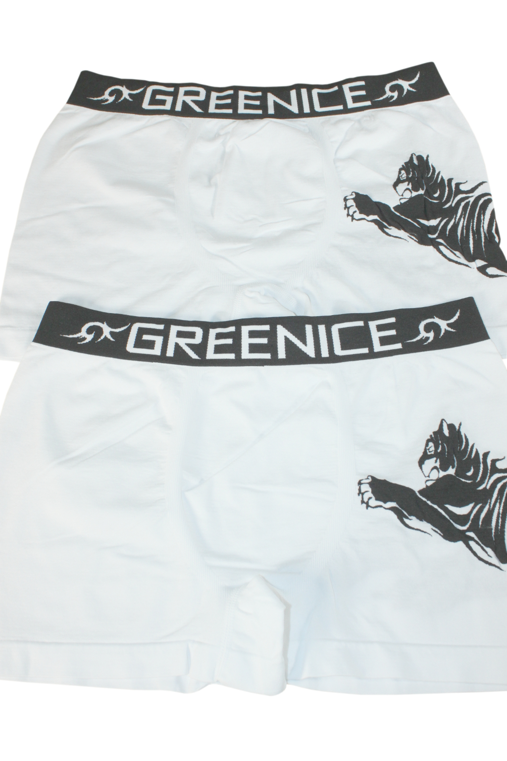 Geromino G&N bezešvé boxerky - 2bal L bílá