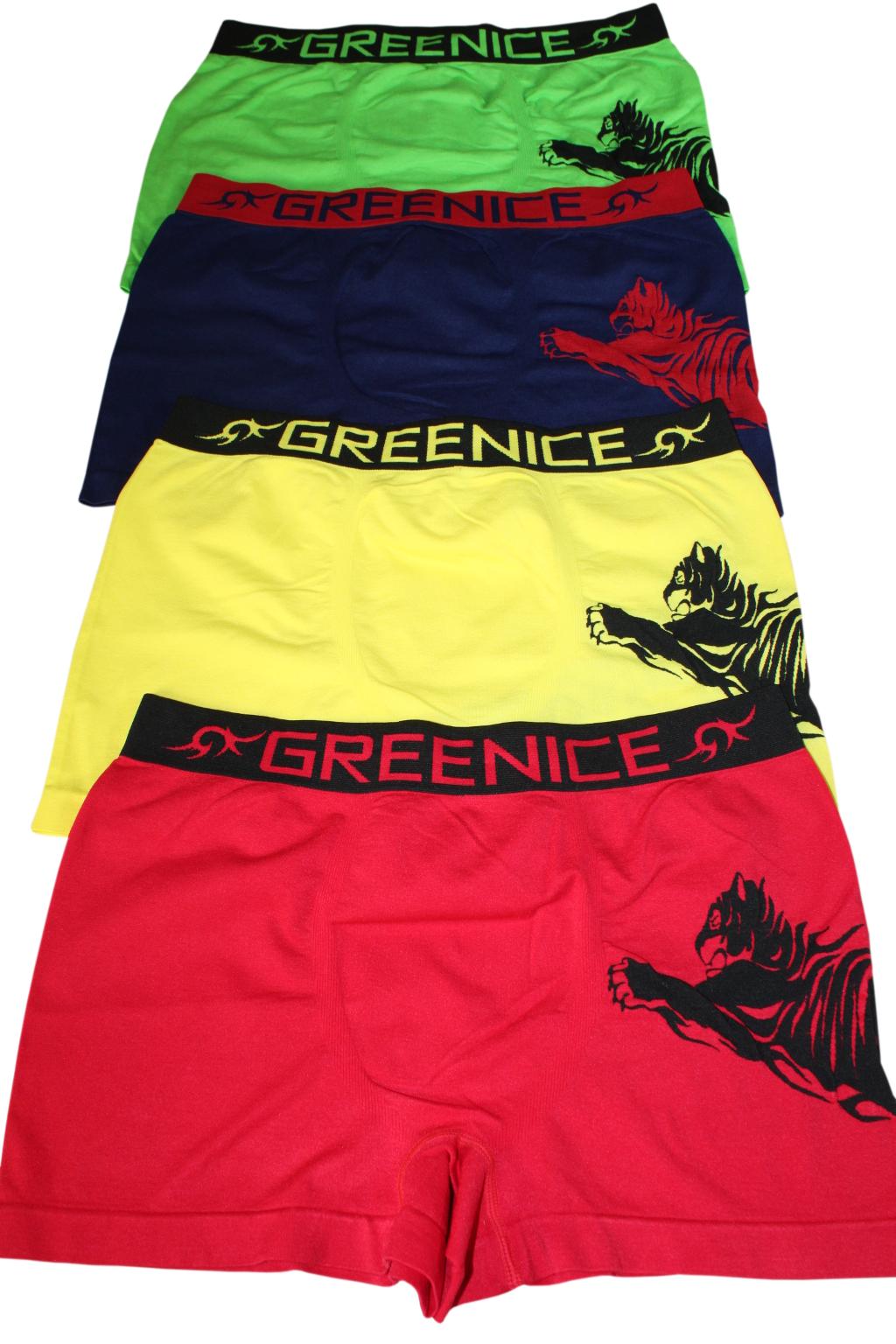 Geromino G&N bezešvé boxerky - 2bal MIX L