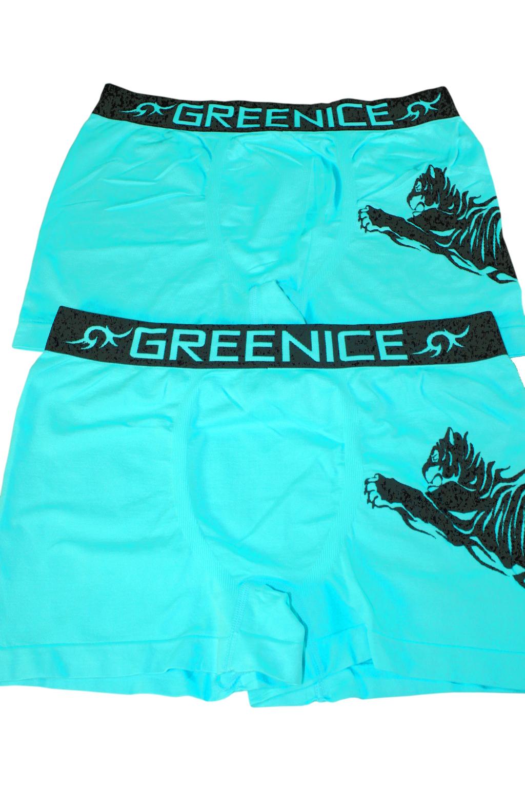 Geromino G&N bezešvé boxerky - 2bal modrá L