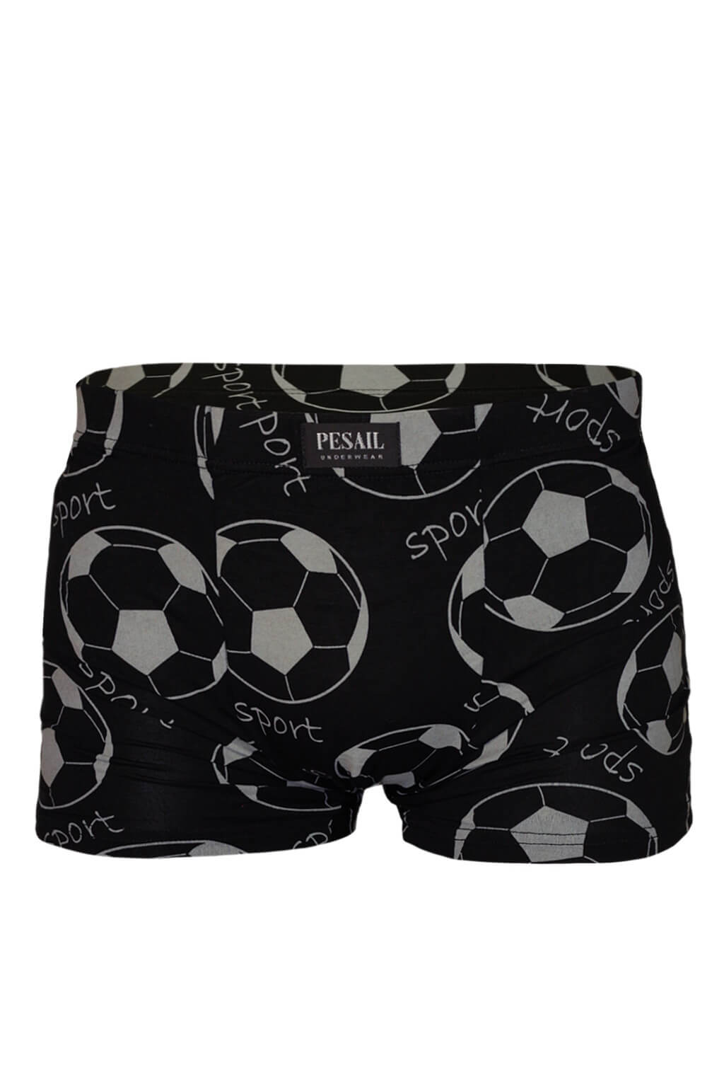 Ronaldo boxerky prádlo z bambusu XXL šedá