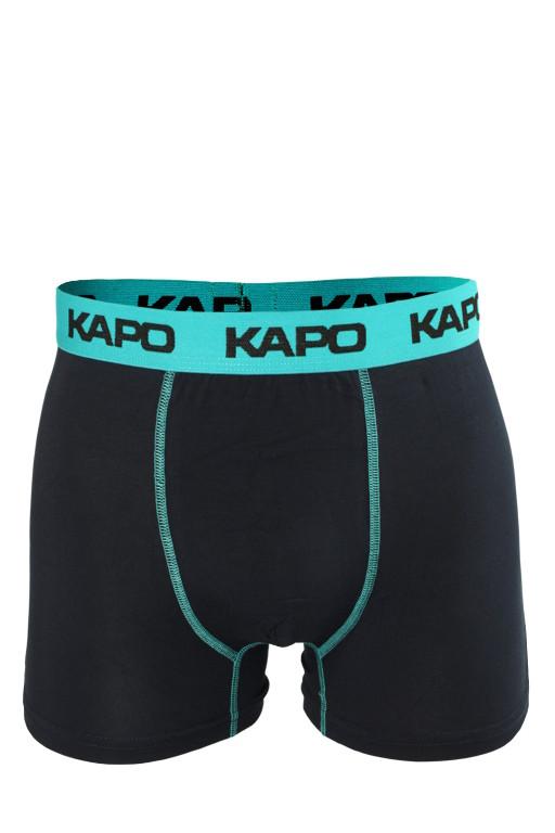 Stitches KAPO bambus boxerky L modrá
