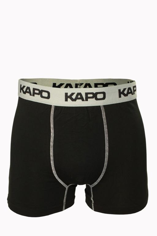 Stitches KAPO bambus boxerky XXL šedá
