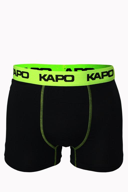 Stitches KAPO bambus boxerky L zářivě zelená