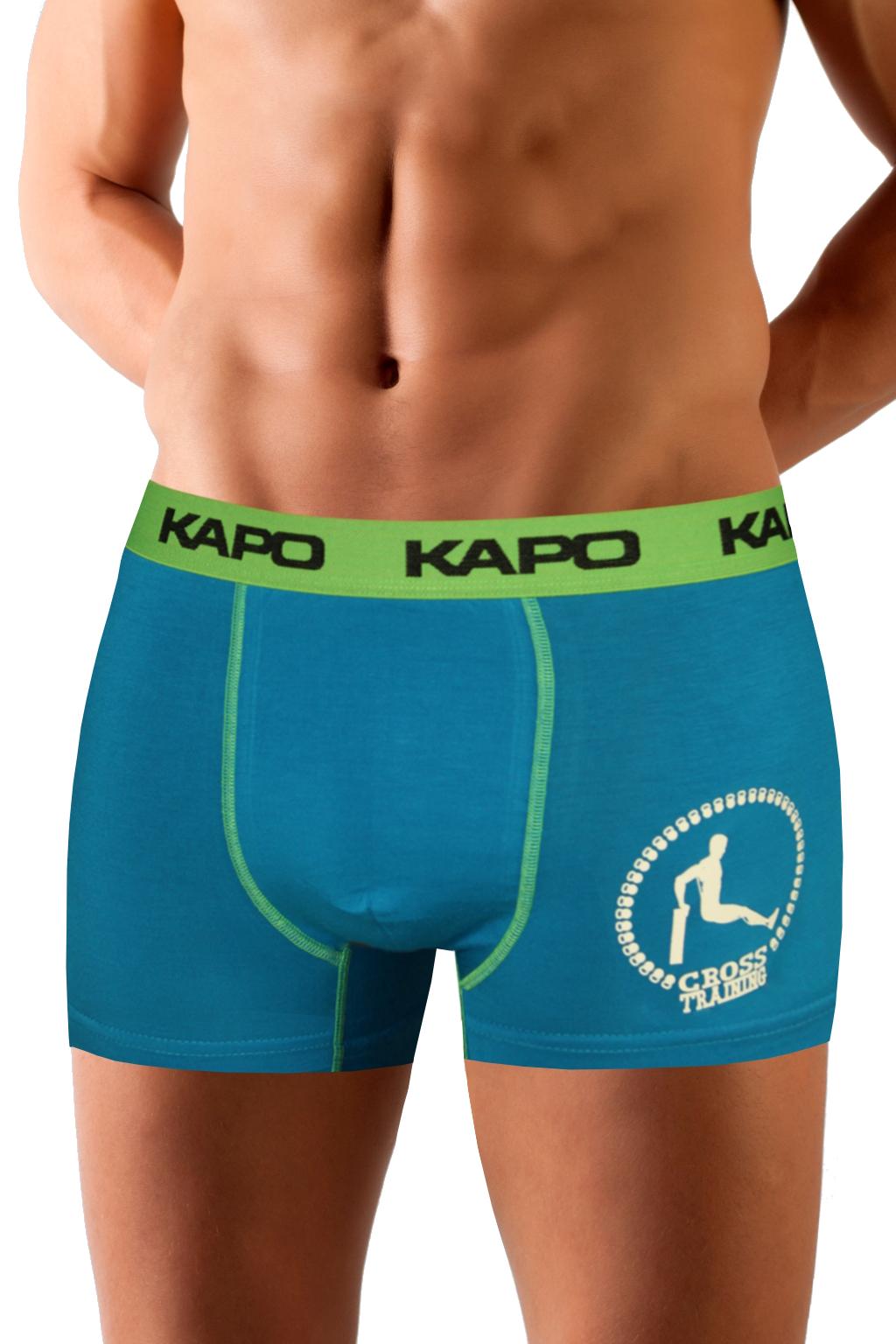 CrossTraining KAPO bambus boxerky zelená XL
