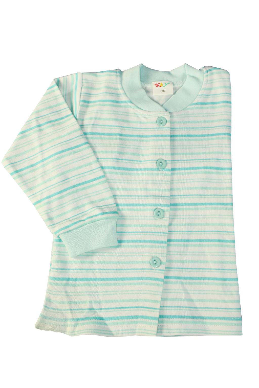 Style boy bavlněný kabátek 1-2 roky světle modrá