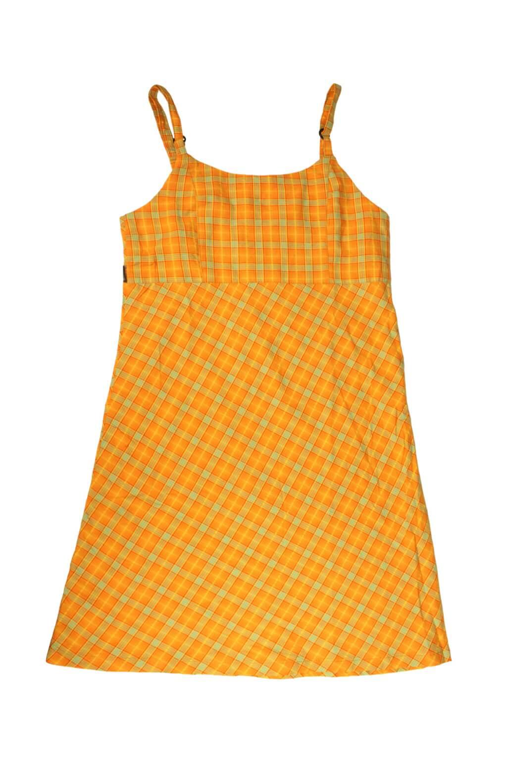 Nature úzké dívčí šaty 5-6 let oranžová cdca7a5d63