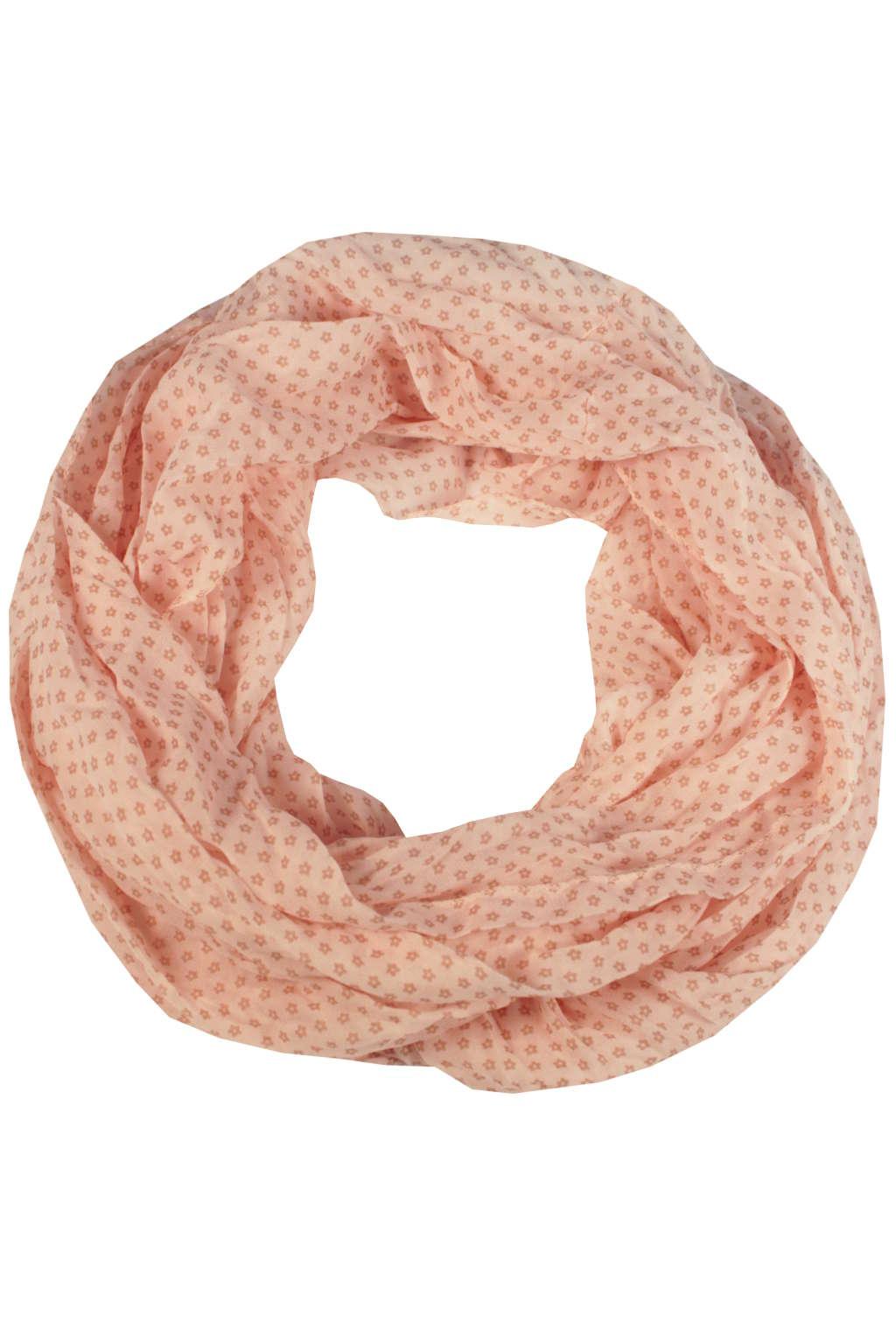 Kayla letní kroucený šál světle růžová b0fbdcf1a5