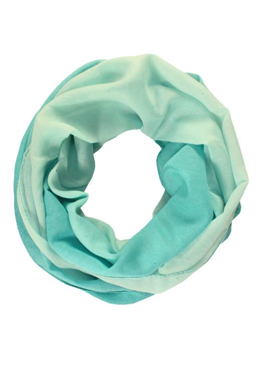 Perla - letní tunelový šátek světle modrá