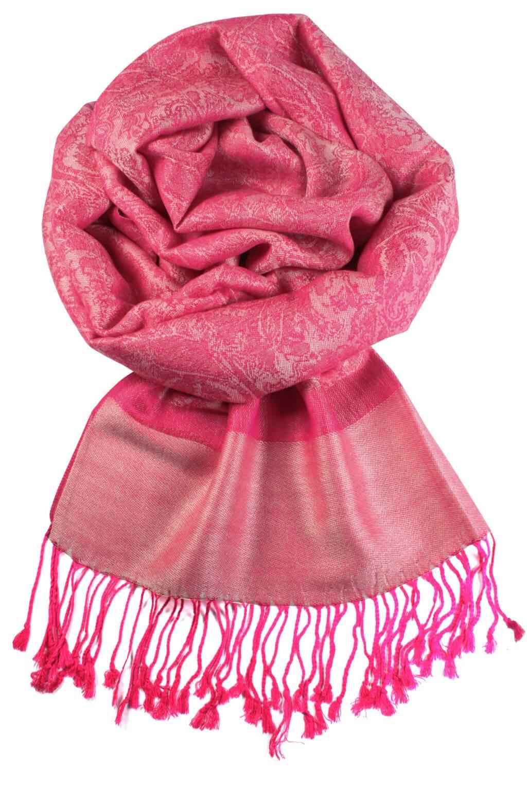 Venezia kašmírový šál - pašmína růžová b833dbc83e