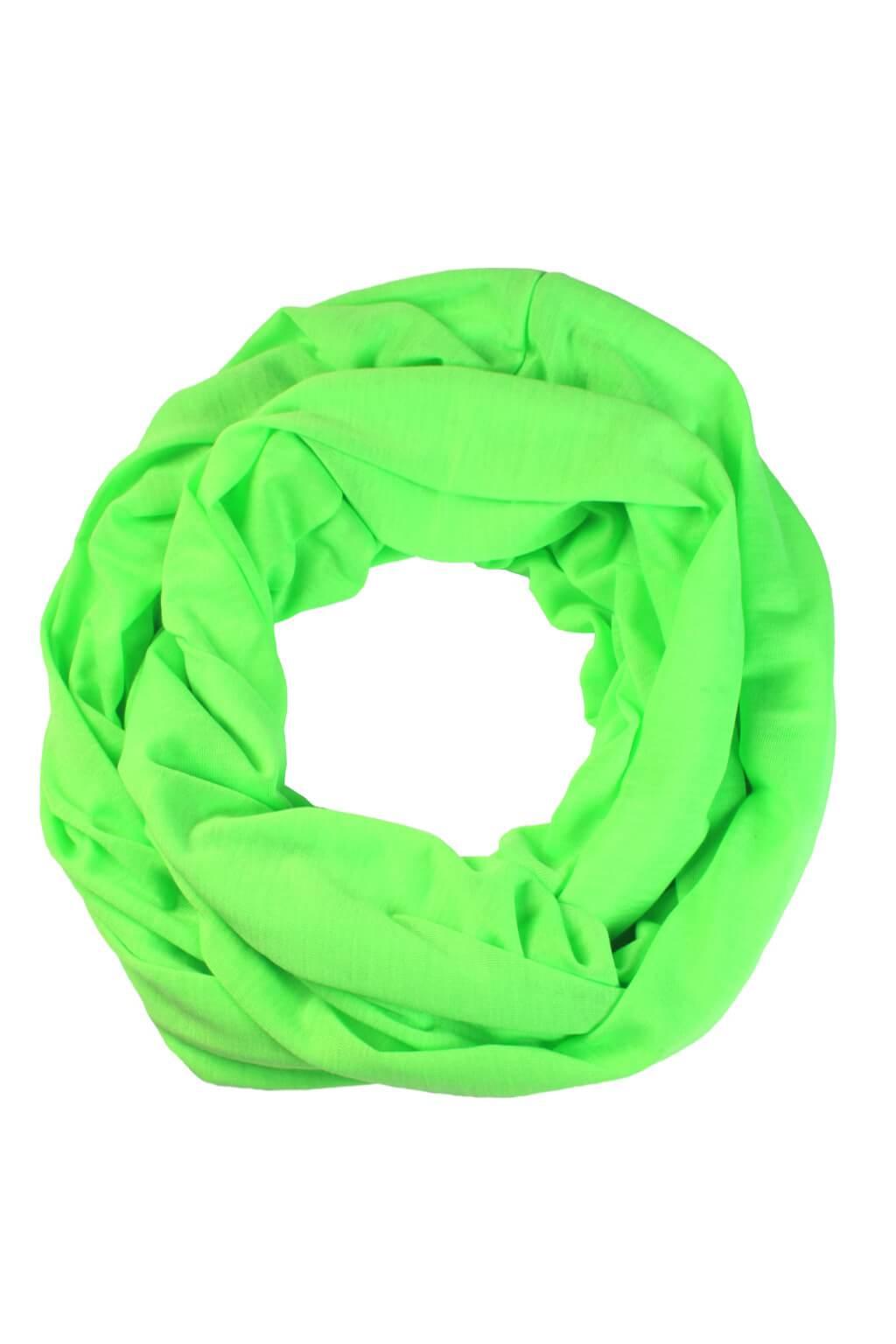 340c2398702 Heidi Neon jemná šála - tunel zářivě zelená