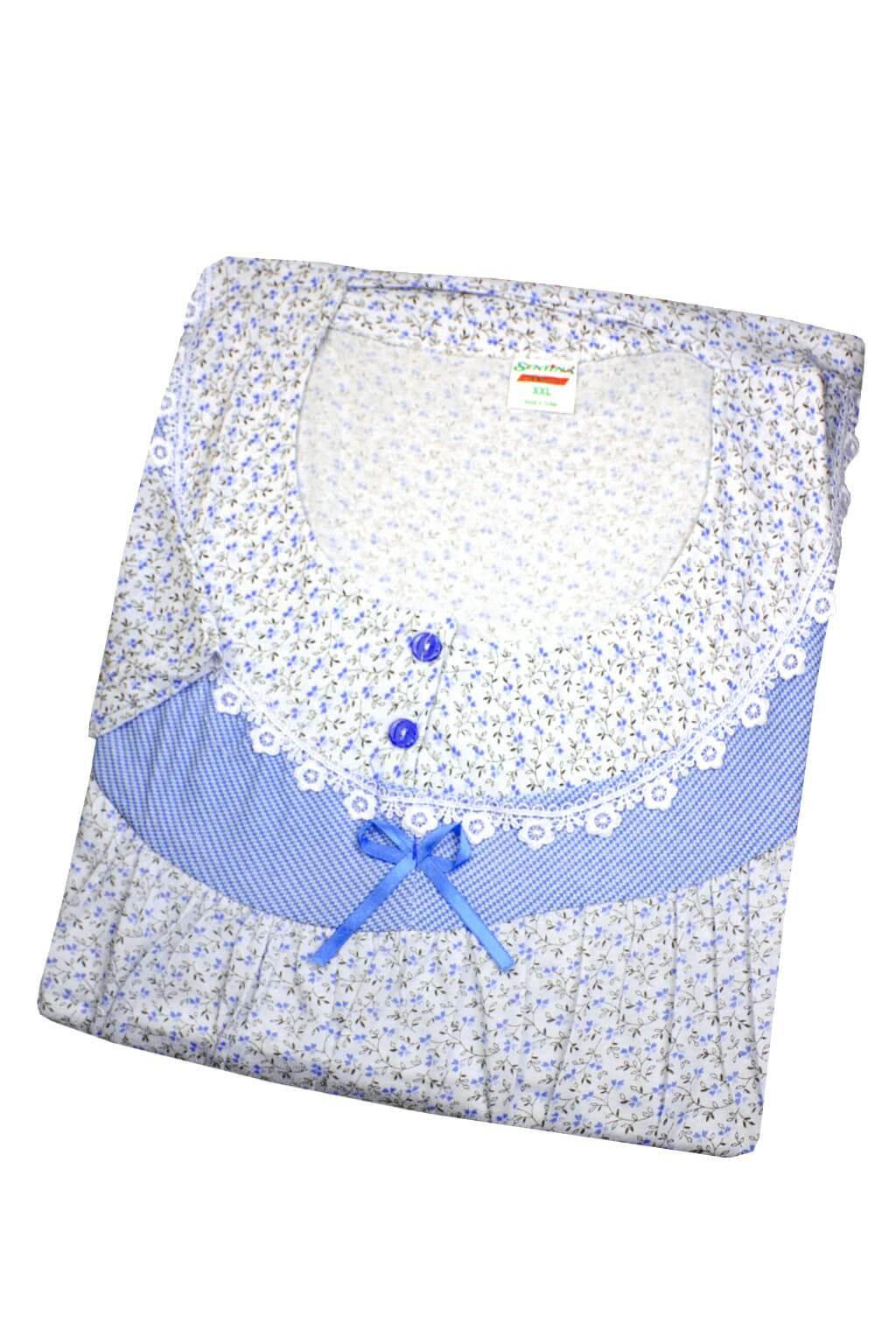 Sentina noční košile dl.rukáv L tmavě modrá